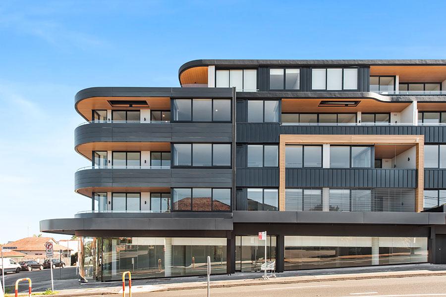 Facade Construction Nazero Sydney builder quality Northbridge PBD Architects