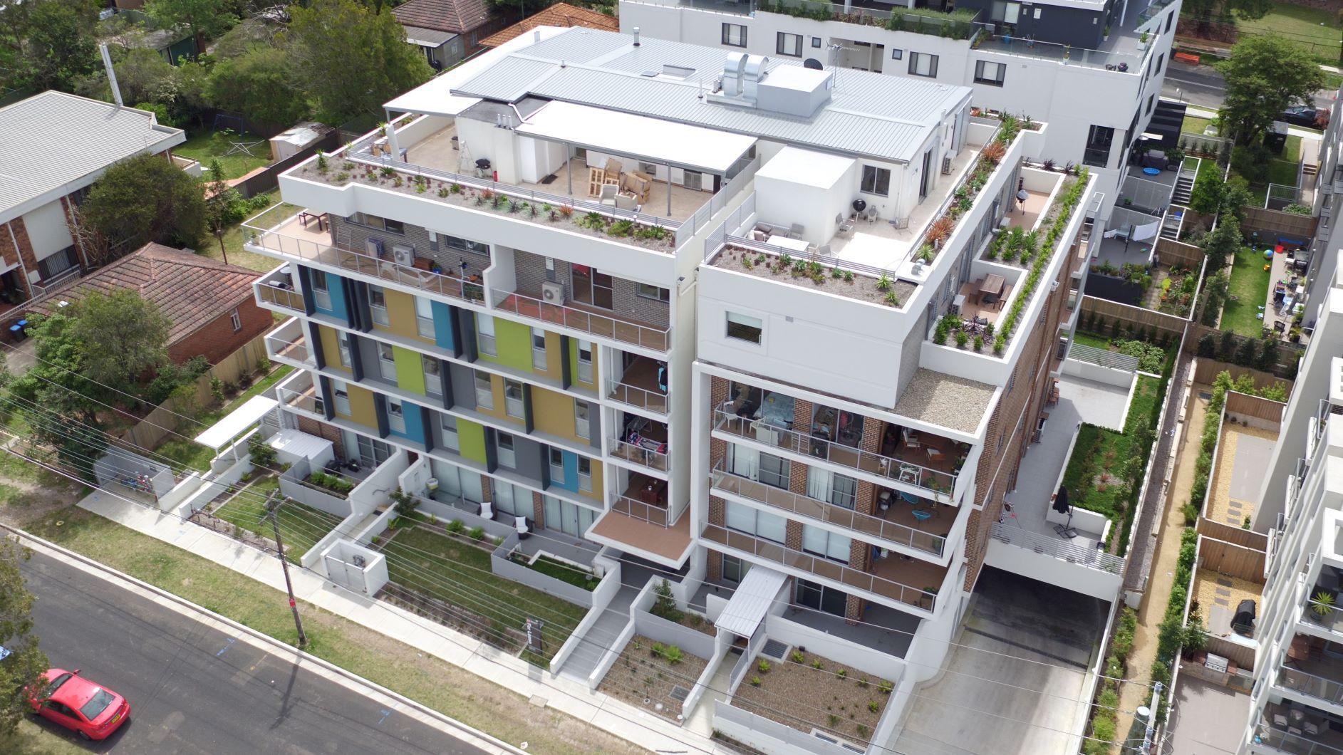 Lane Cove High End Construction Facade Terrace Homes Landscaping