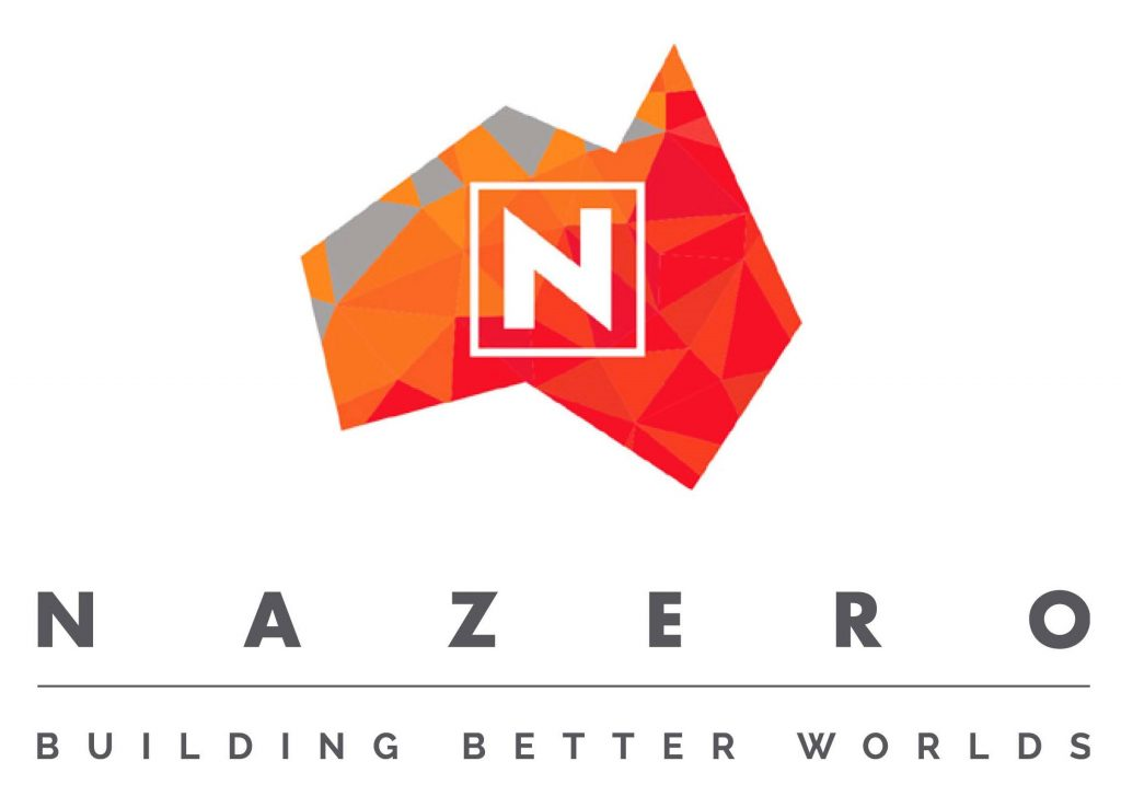 Nazero Building Better Worlds - Logo
